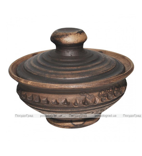 Банка для соли керамическая Покутская Керамика Шляхтянская 150мл