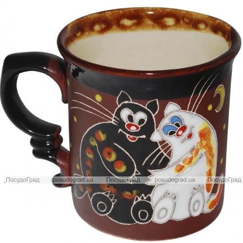 """Чашка """"Добра глина"""" Толстые коты, 300мл"""
