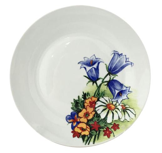 """Набор 6 десертных тарелок """"Колокольчики"""" Ø19см"""