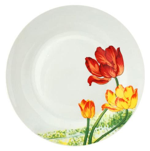 """Набор 6 мелких тарелок """"Тюльпан"""" Ø20см"""