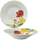 """Набір 6 супових тарілок """"Тюльпан"""" Ø20см, кераміка"""
