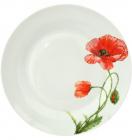 """Набір 6 підставних тарілок """"Червоний мак"""" Ø26.5см"""