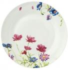 """Набір 6 підставних тарілок """"Рожева квітка"""" Ø26.5см"""