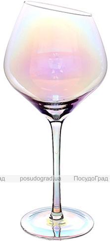 """Набор 6 фужеров Facets """"Rainbow II"""" для вина 550 мл, цветное стекло"""