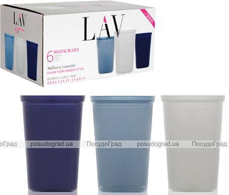 Набір 6 склянок LAV Enver 200мл, скляні