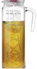 Глечик LAV Aland 1.2л, скляний з кришкою