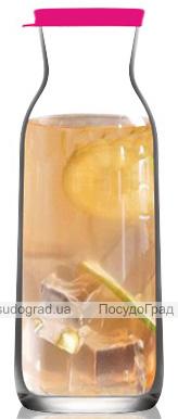 Графін (карафа) LAV Aland 700мл скляний, з кришкою