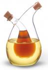 Ємність Fissman для олії 400мл та оцту 80мл (2в1), скляна