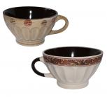 Набір чашок для бульйону Mokko 420мл 2шт в подарунковій коробці