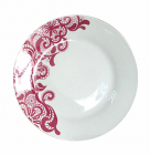 """Набор 6 десертных тарелок """"Кружево"""" Ø19.5см, керамика"""