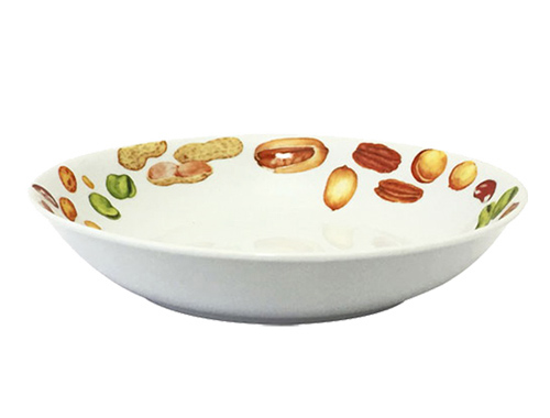 "Набор 6 суповых тарелок ""Орешки"" Ø19.5см, керамика"