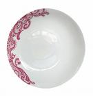 """Набір 6 супових тарілок """"Мереживо"""" Ø19.5см, кераміка"""