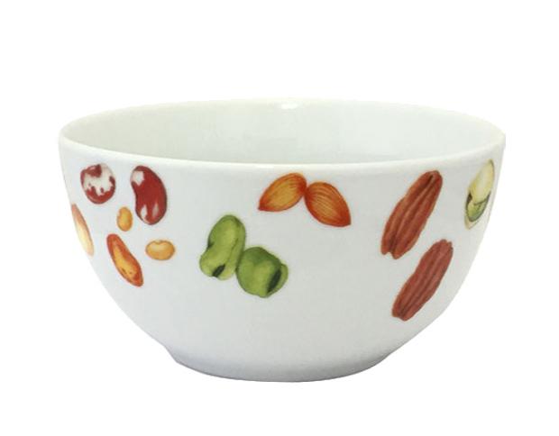 """Набор 6 салатников """"Орешки"""" 600мл, керамика"""