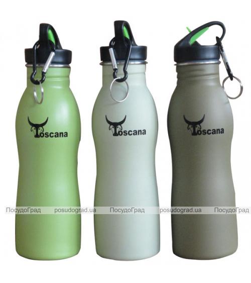 Бутылка фигурная для воды Toscana 600мл
