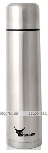 Термос Toscana Cosmo 750мл, нержавеющая сталь