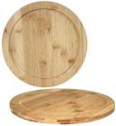 """Дошка обробна """"Bamboo"""" кругла Ø30см, бамбукова"""