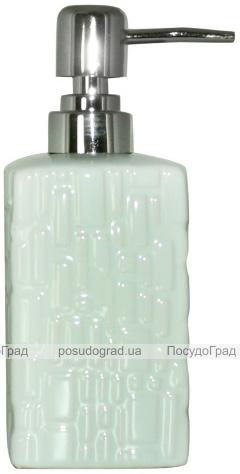 Дозатор для мыла «Аквамарин» керамический 350мл