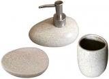 """Набір аксесуарів """"Loft"""" для ванної кімнати 3 предмета, кераміка"""