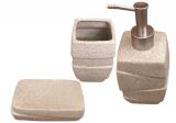 """Набір аксесуарів """"Classic"""" для ванної кімнати 3 предмета, кераміка"""