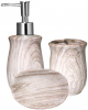 """Набір аксесуарів """"Ольха"""" для ванної кімнати 3 предмета, кераміка"""