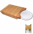 Доска разделочная Board for Fish под тарелку 22х33см