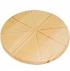 Доска для пиццы Ø31см, деревянная