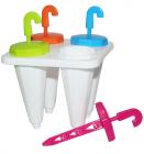 Набор форм Flex для мороженого и замороженного сока 4 порции (мороженица)