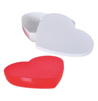 """Конфетница """"Heart"""" 700мл пластиковое сердце с крышкой"""