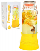 Глечик-банка для лимонаду 4л з краном на підставці
