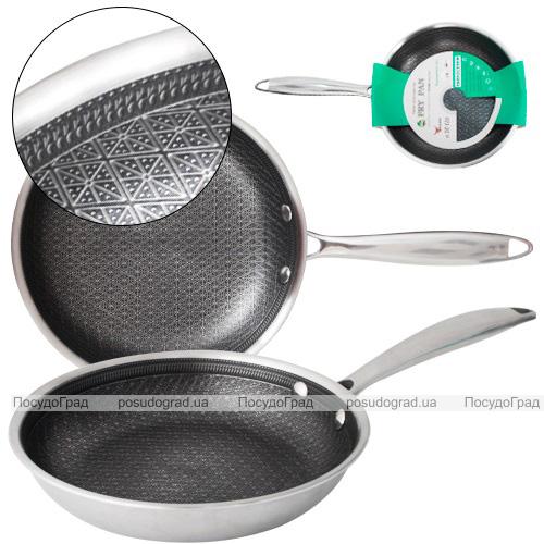 Сковорода S&T Ø28см з антипригарним покриттям PFLUON