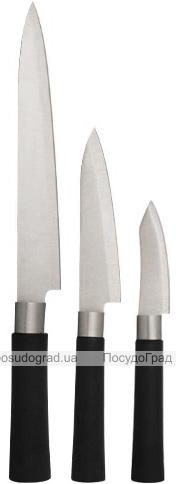Набор 3 кухонных ножа S&TJapanese из нержавеющей стали, 33.5см, 23.2см, 19см