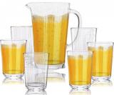Набір для напоїв Oakley 6 склянок 400мл і графін 1.6л