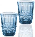 Набір 6 склянок Elodia Вінтаж 280мл, кобальтове скло