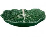 Салатник Bordallo Pinheiro Cabbage 2250мл Зеленый