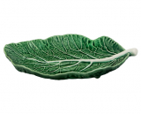 Набір 2 сервірувальних блюда Bordallo Pinheiro Cabbage 25x17см Зелений