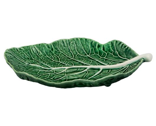 Набор 2 сервировочных блюда Bordallo Pinheiro Cabbage 25x17см Зеленый