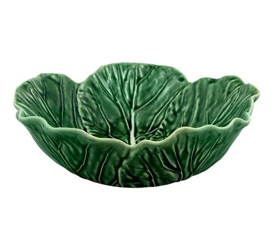 Набор 2 салатника Bordallo Pinheiro Cabbage 800мл Зеленый