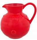 Кувшин Bordallo Pinheiro Fantasia 2200мл Красный