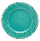 Набір 4 столових тарілки Bordallo Pinheiro Fantasia Ø29см Бірюза