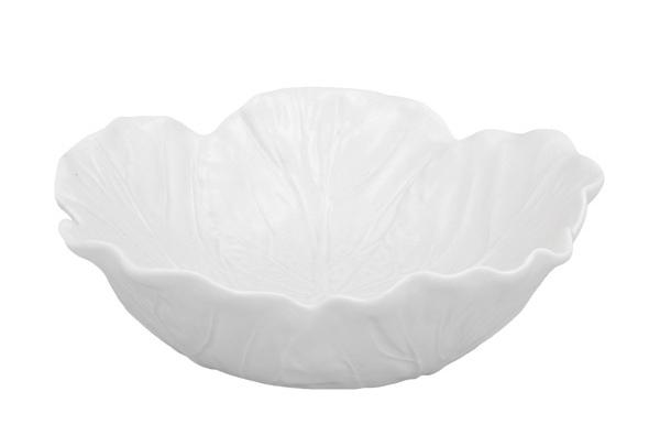 Набор 2 салатника Bordallo Pinheiro Cabbage 800мл Бежевый