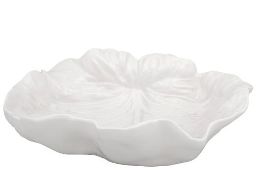Блюдо овальное Bordallo Pinheiro Cabbage 26x25см, бежевое