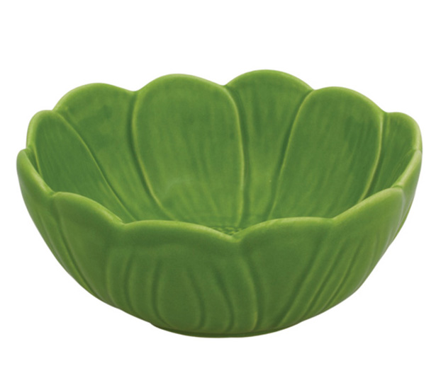 Салатник Bordallo Pinheiro Nenufar 2000мл Темно-зеленый