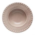 Набор 4 глубоких тарелки Bordallo Pinheiro Fantasia 600мл Бежевые