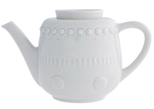 Чайник-заварник Bordallo Pinheiro Fantasia 1500мл Серый