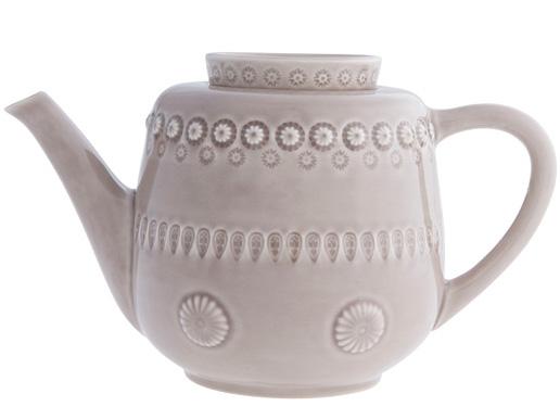 Чайник-заварник Bordallo Pinheiro Fantasia 1500мл Бежевый