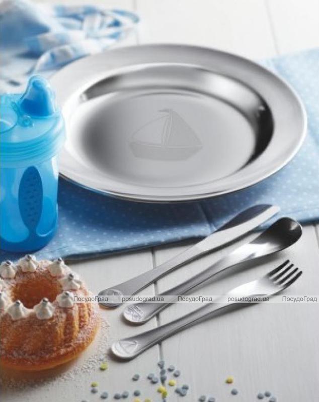 Набор столовых приборов Tramontina Baby Le Petit для детей 3 предмета голубой
