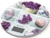 Кухонні електронні ваги Vitek VT-2426 Llilac до 5 кг