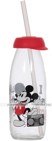 Бутылка детская с трубочкой Herevin Disney Mickey Mouse 250мл