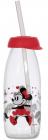 Пляшка дитяча з трубочкою Herevin Disney Minnie Mouse 250мл