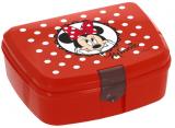 Ланч-бокс Herevin Disney Minnie Mouse 17х12х7см пластик, червоний